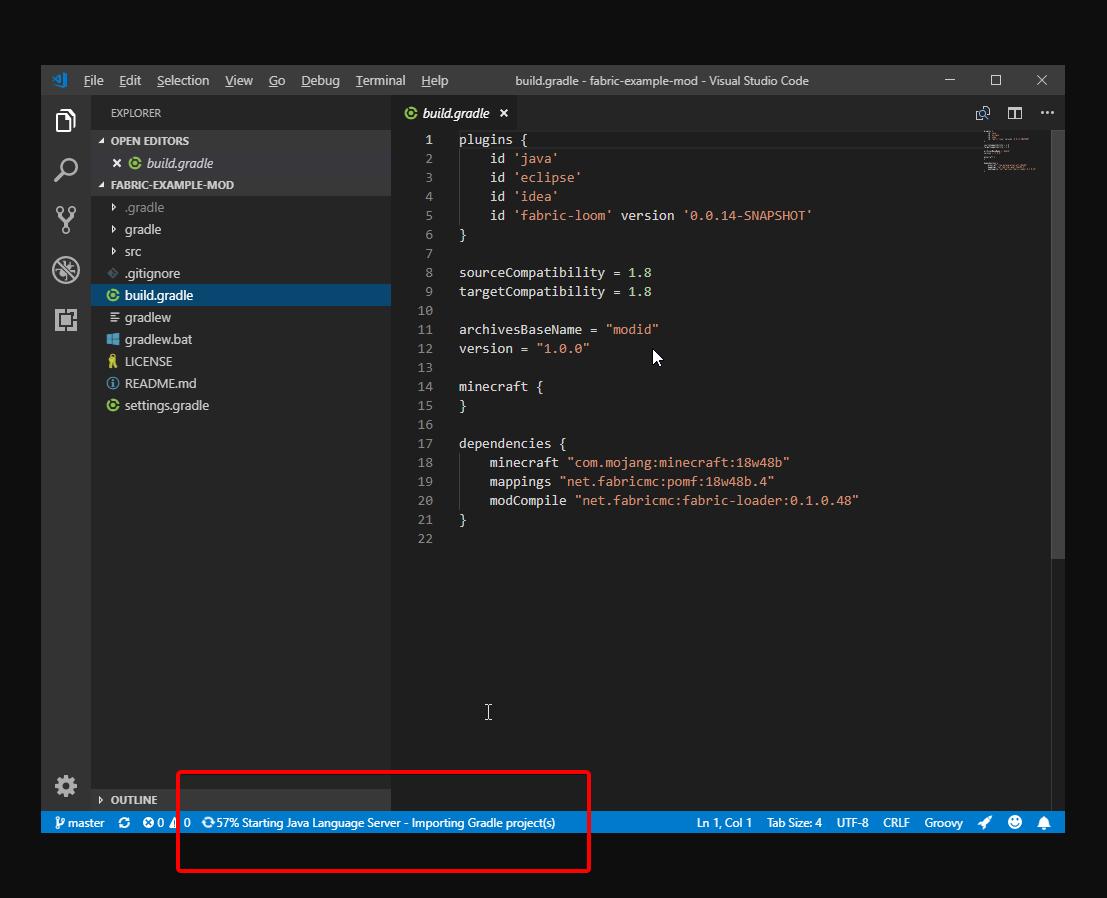 tutorial:vscode_setup [Fabric Wiki]